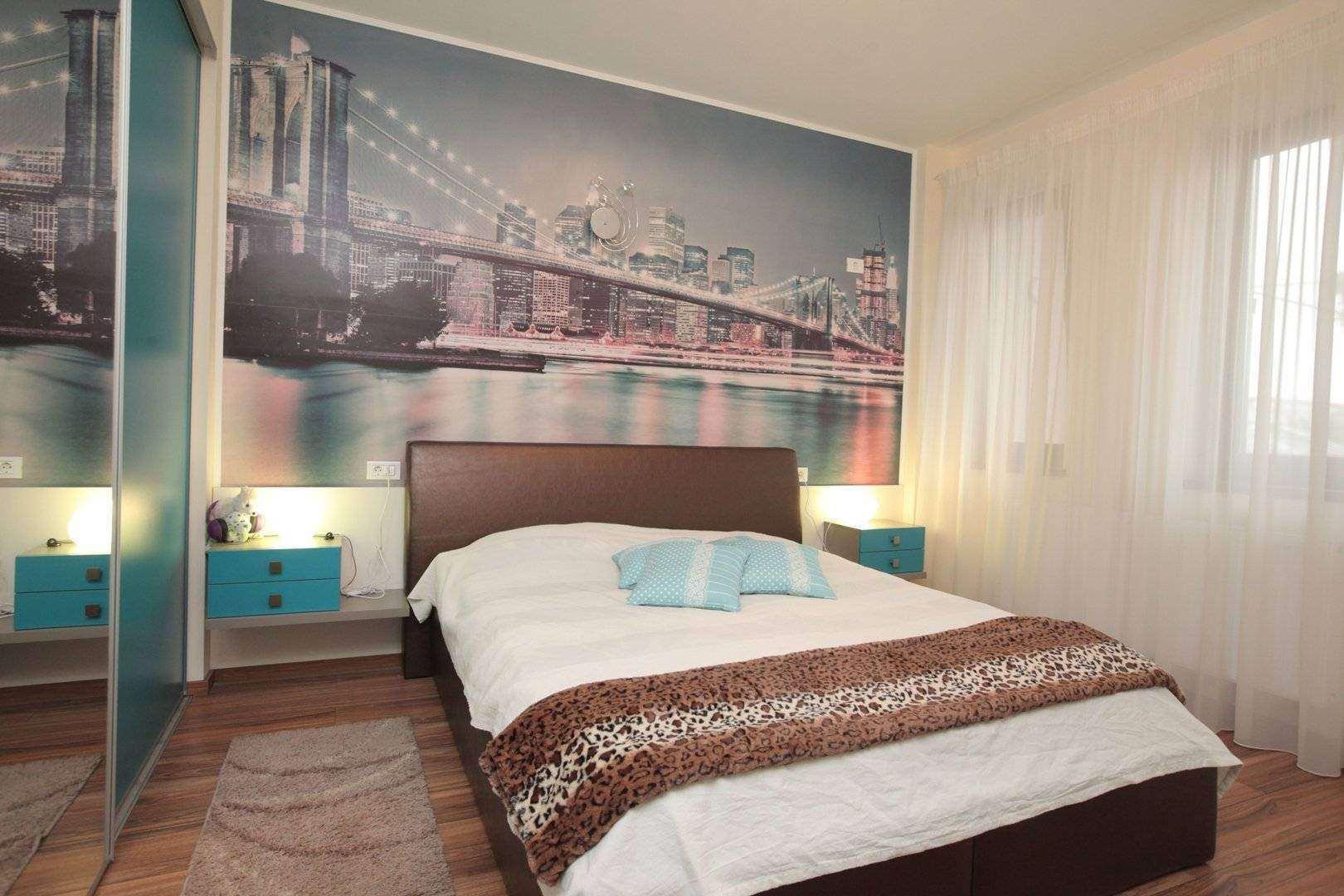 mobila dormitor turcoaz