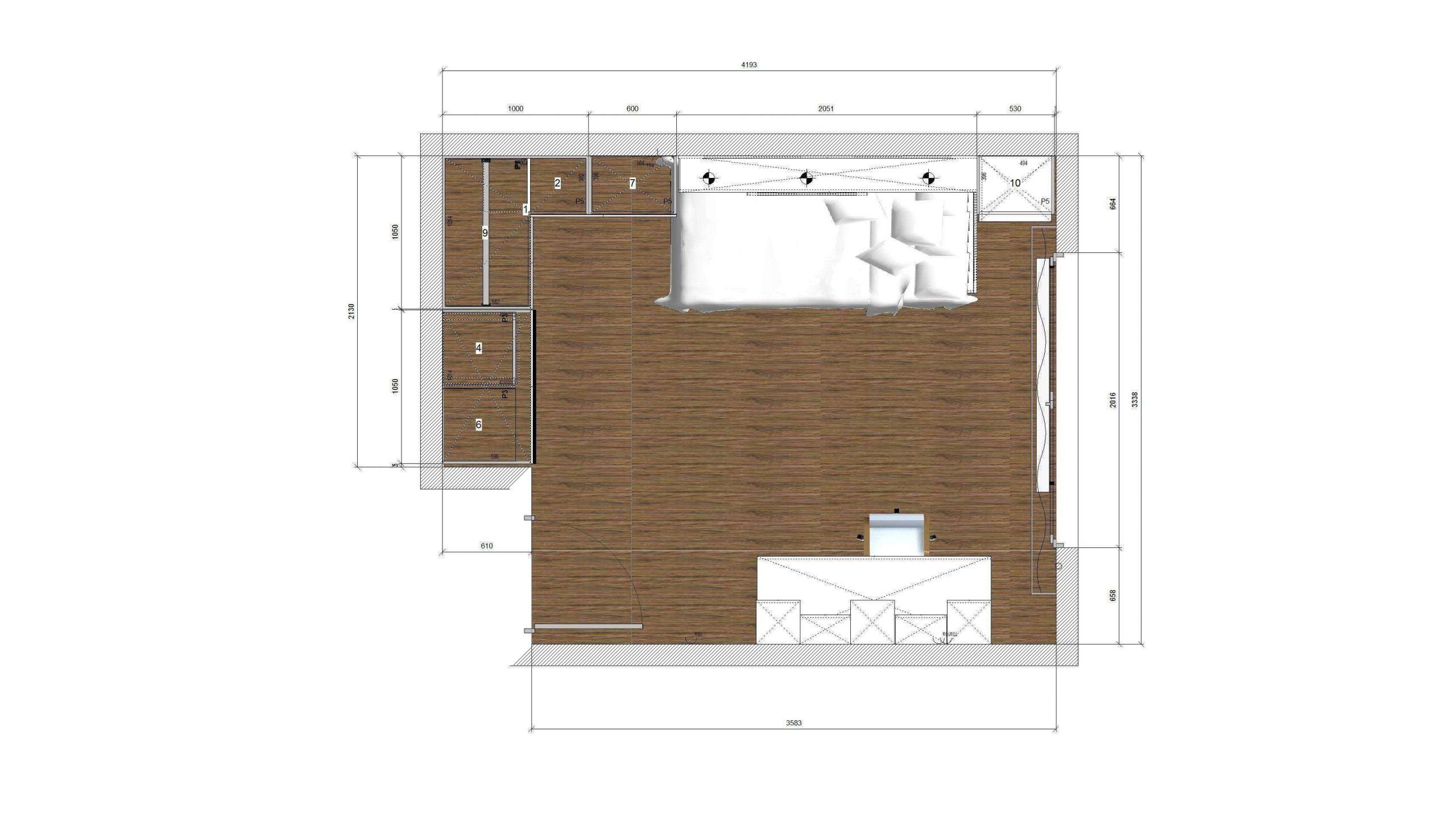 Design interior camera baiat 5 ani