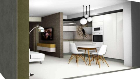 Design interior apartament de vacanta