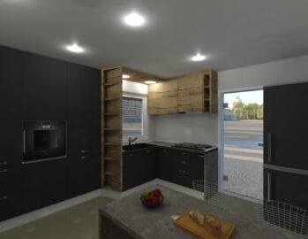 Proiect mobila  bucatarie