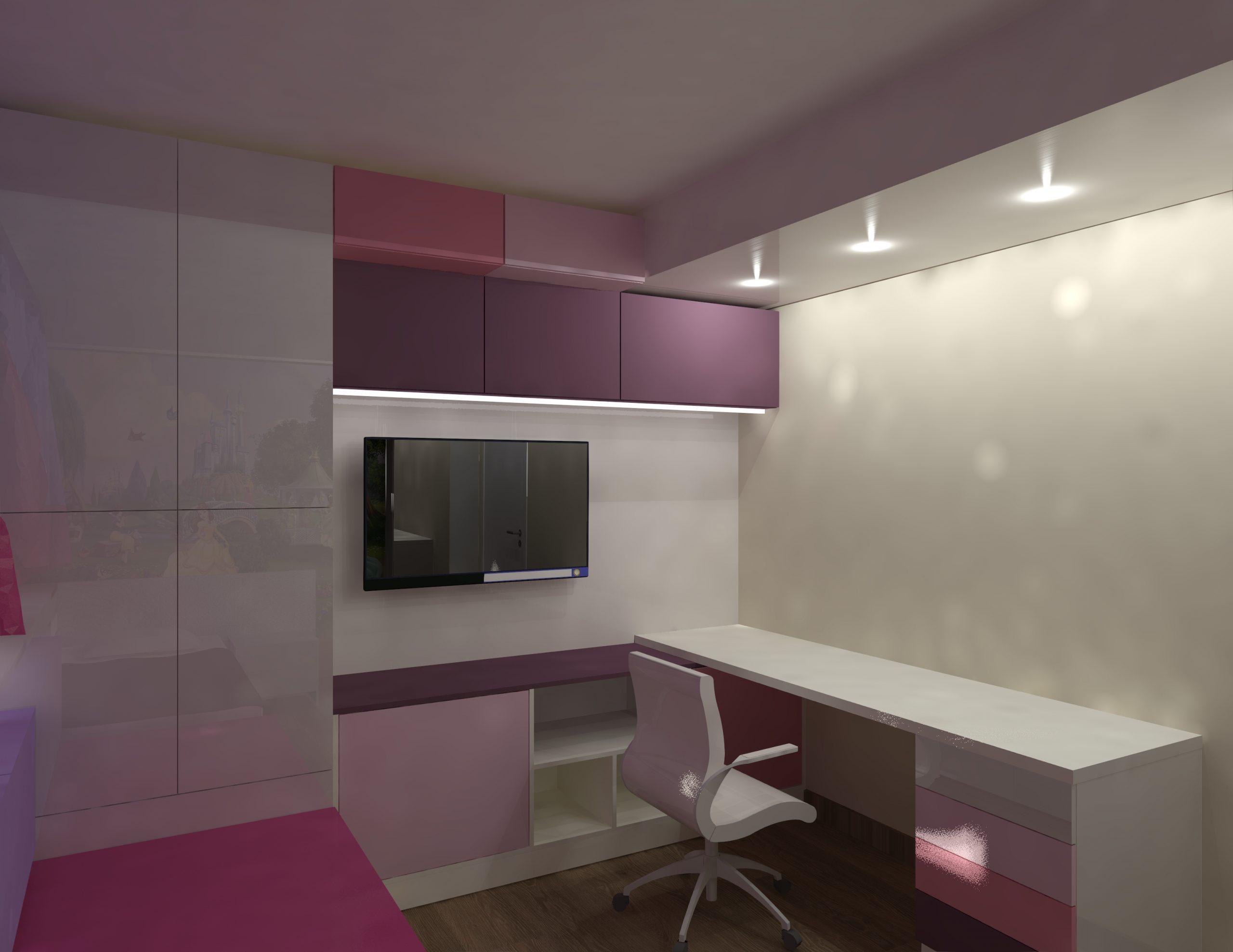 Design interior camera fetita