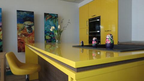 Mobila bucatarie Yellow