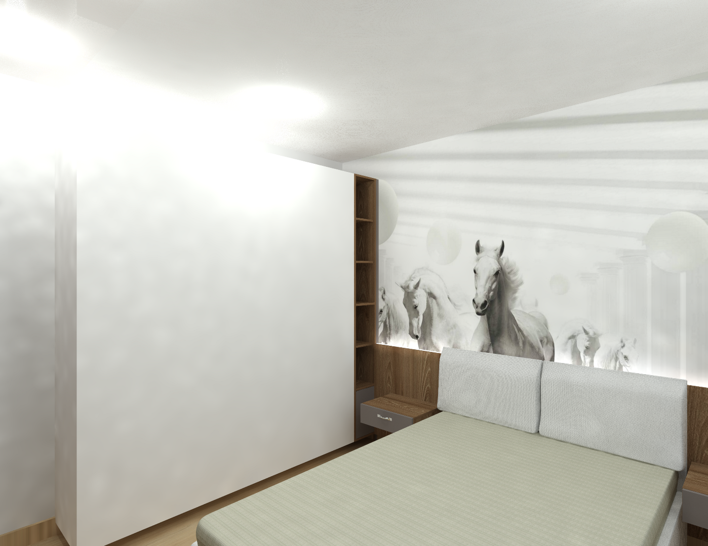 mobila camera baiat moderna