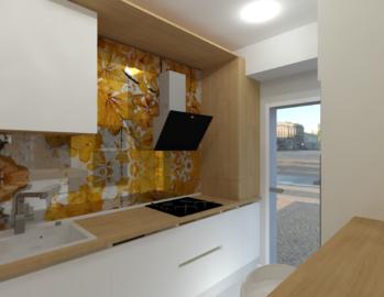 Design interior bucatarie lungaimg