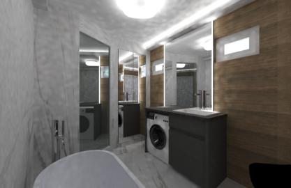 Proiect design interior baie