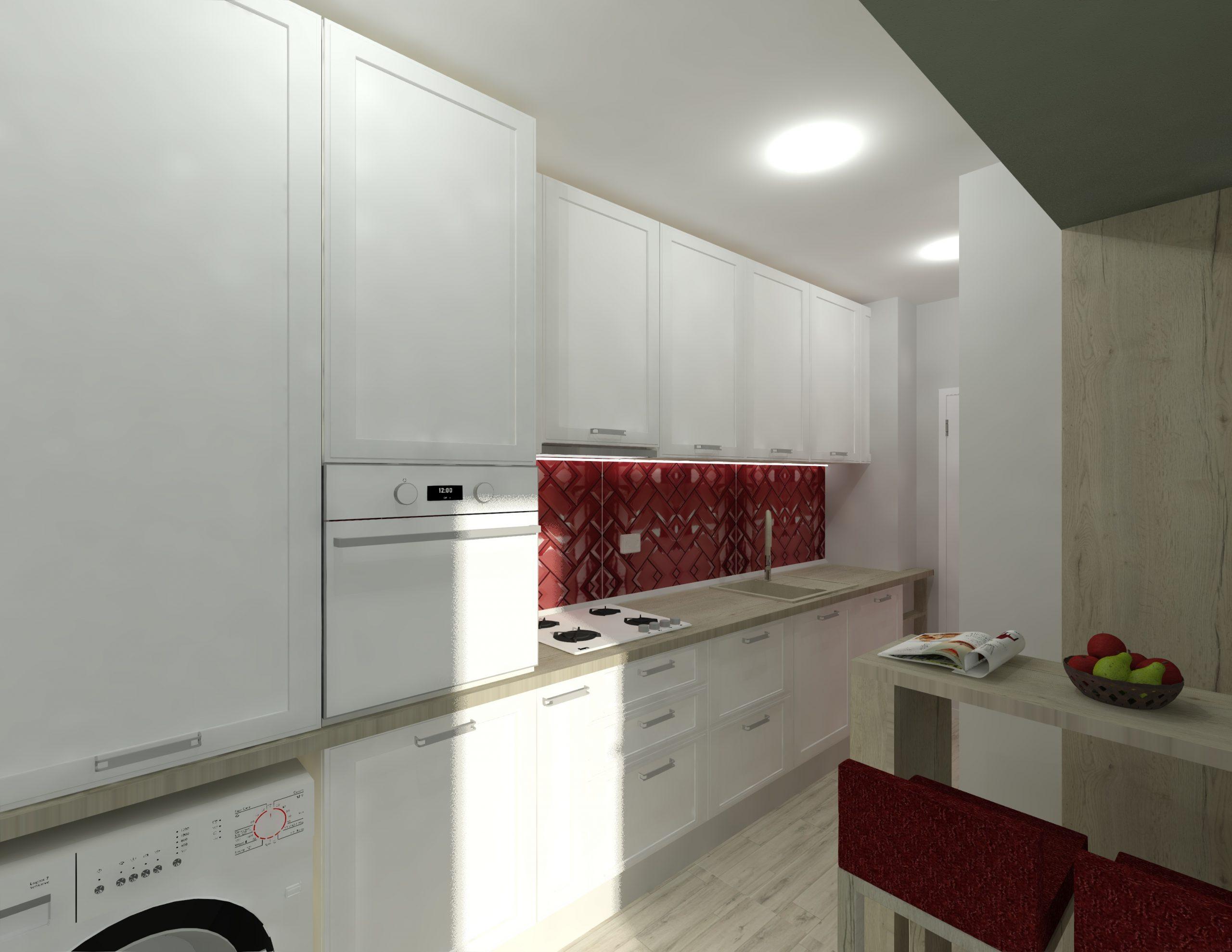 proiect design mobila bucatarie
