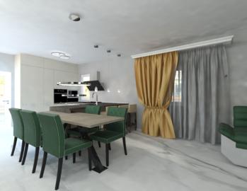 Design open space bucatarie cu livingimg