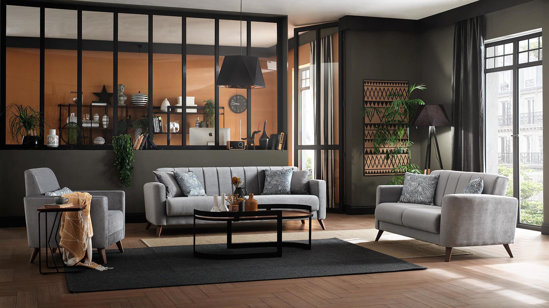 Set canapele Loft extensibile