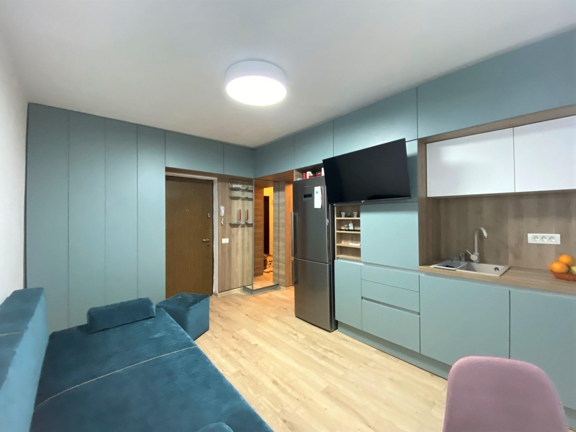 mobila bucatariue open space