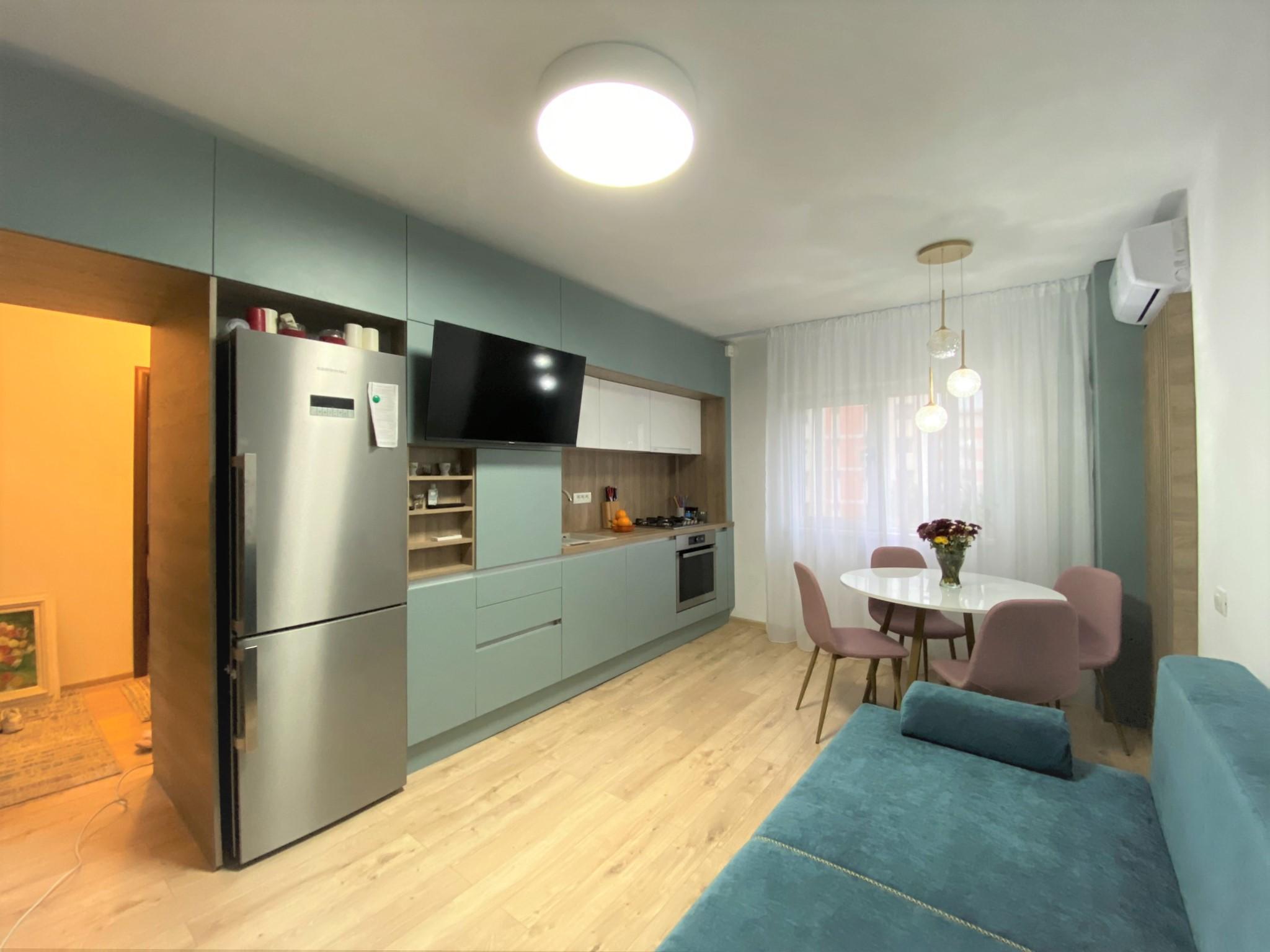 mobila bucatarie open space moderna